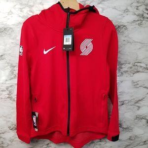 Nike Portland Trailblazers Womens Jacket Hoodie